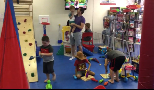 kids playing in sensory gym st. louis missouri